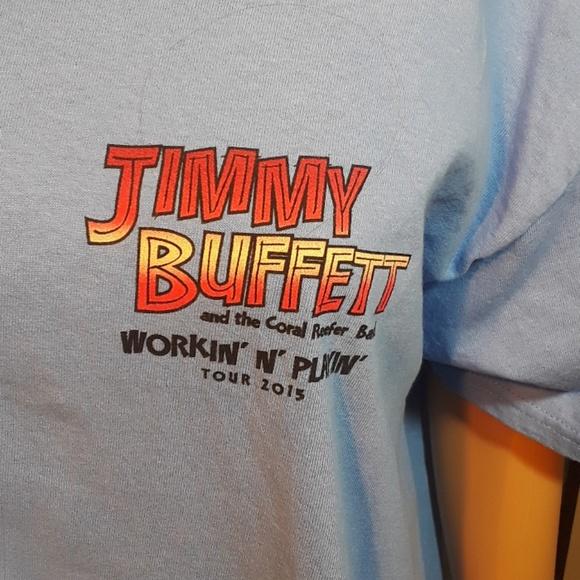 Fine 2 For 20 Sale Jimmy Buffett Tour 2015 T Shirt L Interior Design Ideas Skatsoteloinfo